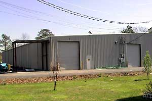 Rear Warehouse Entrance & Loading Dock